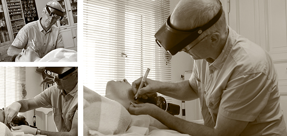 Implantat-Akupunktur Nadeln